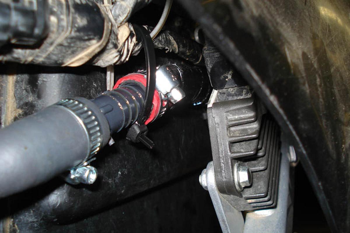 Hott Boys Racing - TRX450R Breather Configurations