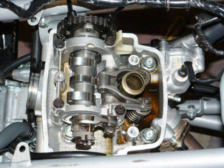 Hott Boys Racing - TRX450R Camshaft Install