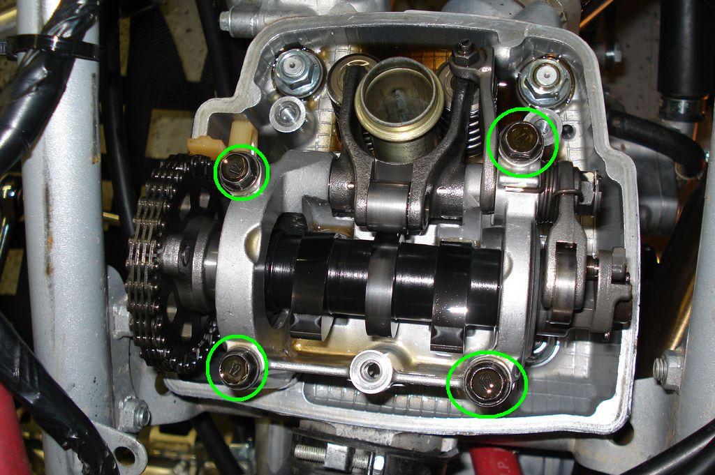 2005 Honda Trx450r >> Hott Boys Racing - TRX450R Valve Adjustment